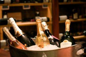 Champagner Le Salzgriess Beef Französisches Restaurant Wien